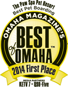 Pet Boarding First Place Best of Omaha 2014
