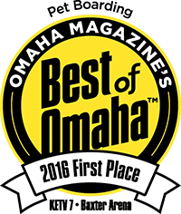 Pet Boarding First Place Best of Omaha 2016
