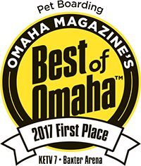 Pet Boarding First Place Best of Omaha 2017