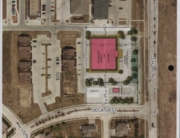 aerial view of new location