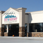 Paw Spa Pet Resort building